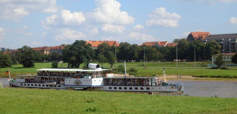 Городские фотографии Дрездена