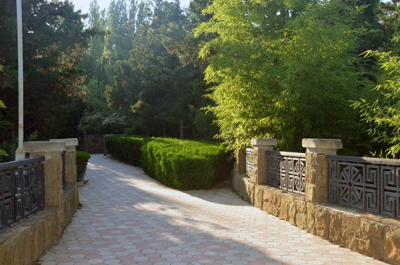 Парк в ТОК Судак