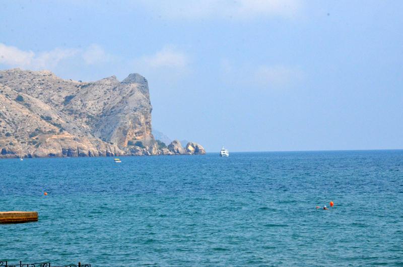 Пляж ТОК Судак