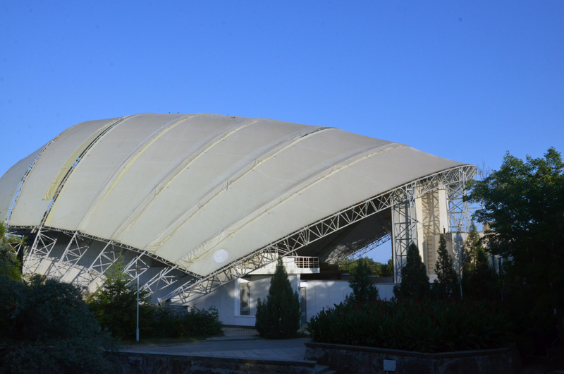 Концертный зал в ТОК Судак
